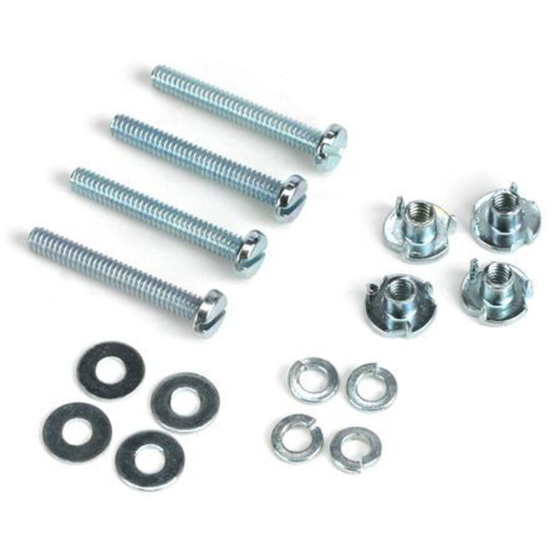 Mounting Bolts & Nuts (4), 2-56 x 1/2