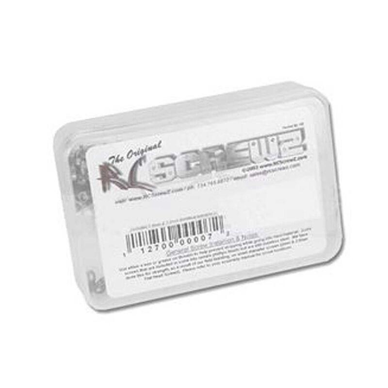 Stainless Steel Screw Kit: Losi Tenacity Truggy