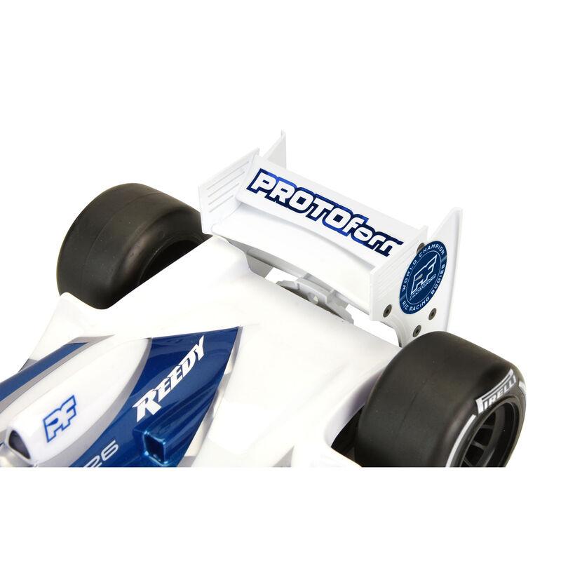 1/10 Rear Wing, White: Formula 1