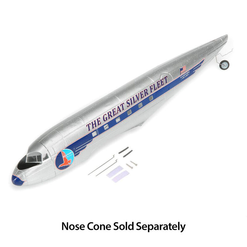 Fuselage Parts Set: Micro EP DC-3 Airliner
