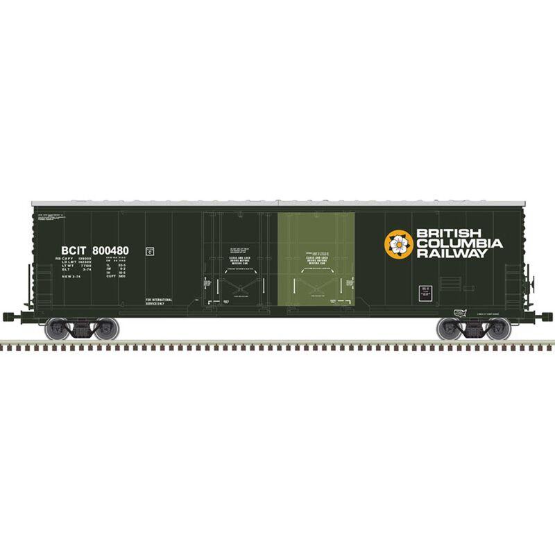 N 53' Evans DPD Boxcar British Columbia 800436