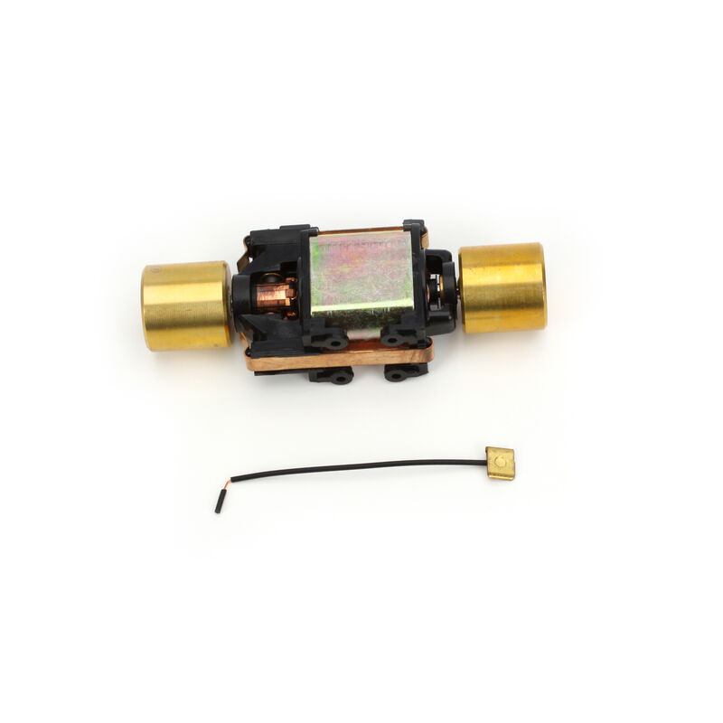 HO High Performance Motor with Flywheels, DCC Compatible (1)