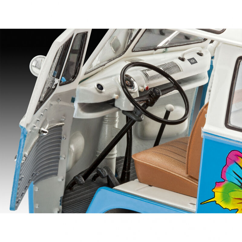 1 24 VW T1 Samba Bus Flower Power