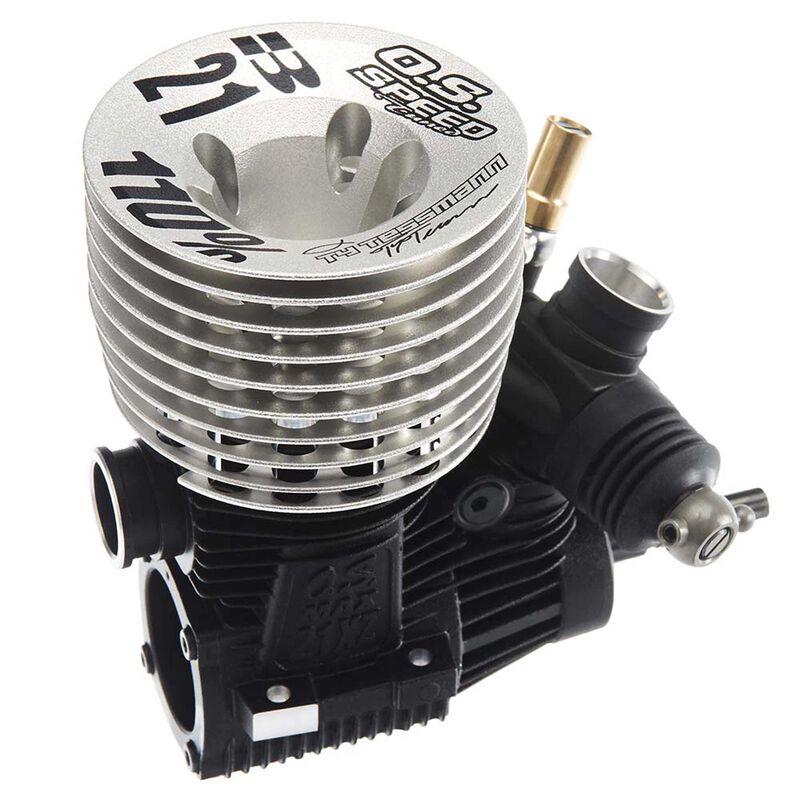 O.S. Speed 21ZX-B Spec II Ty Tessman 110% Engine