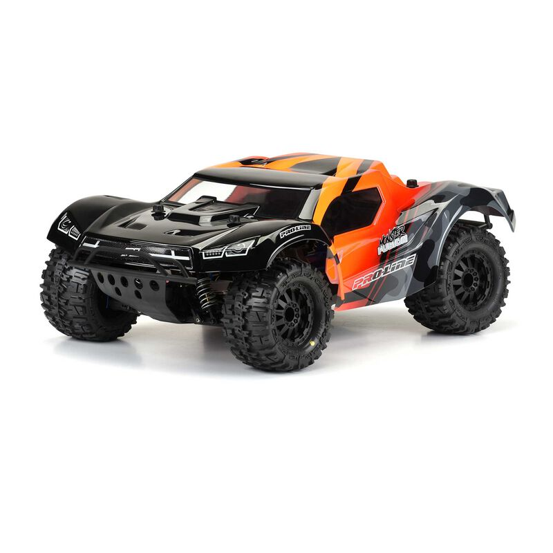 Clear Body, Pre-Cut Monster Fusion: 1/10 Slash 2WD