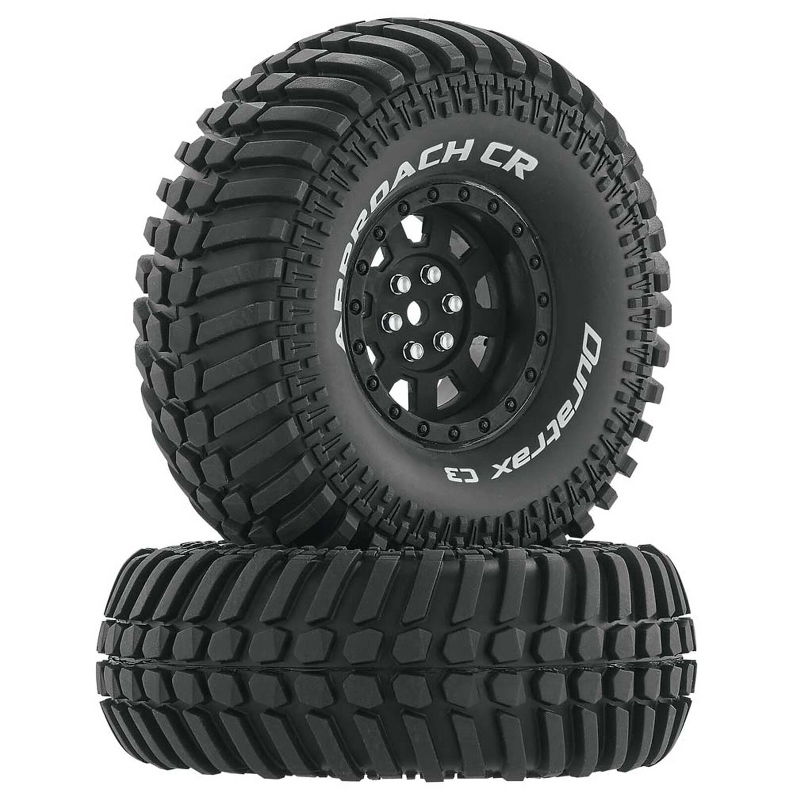 """Approach CR C3 Mounted 1.9""""Crawler Tires, Black (2)"""