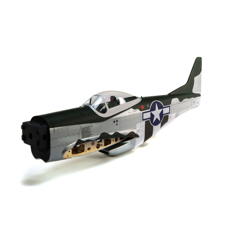 Fuselage with Hatch: P-51D Mustang 20cc