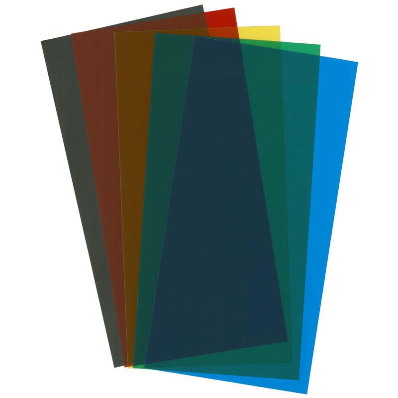 Assortment Transparent Sheets Set 6X12X.010 5 pc