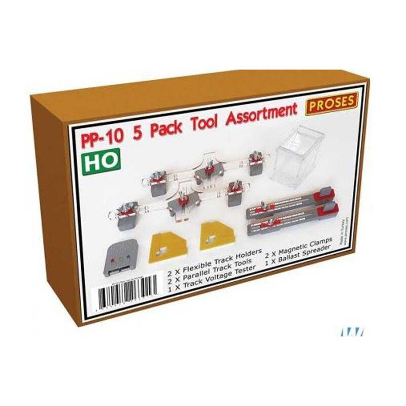 HO Track Pack Tool Assortment