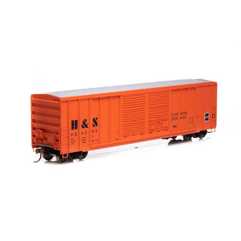 HO RTR 50' FMC Centered Double Door Box H&S #4082