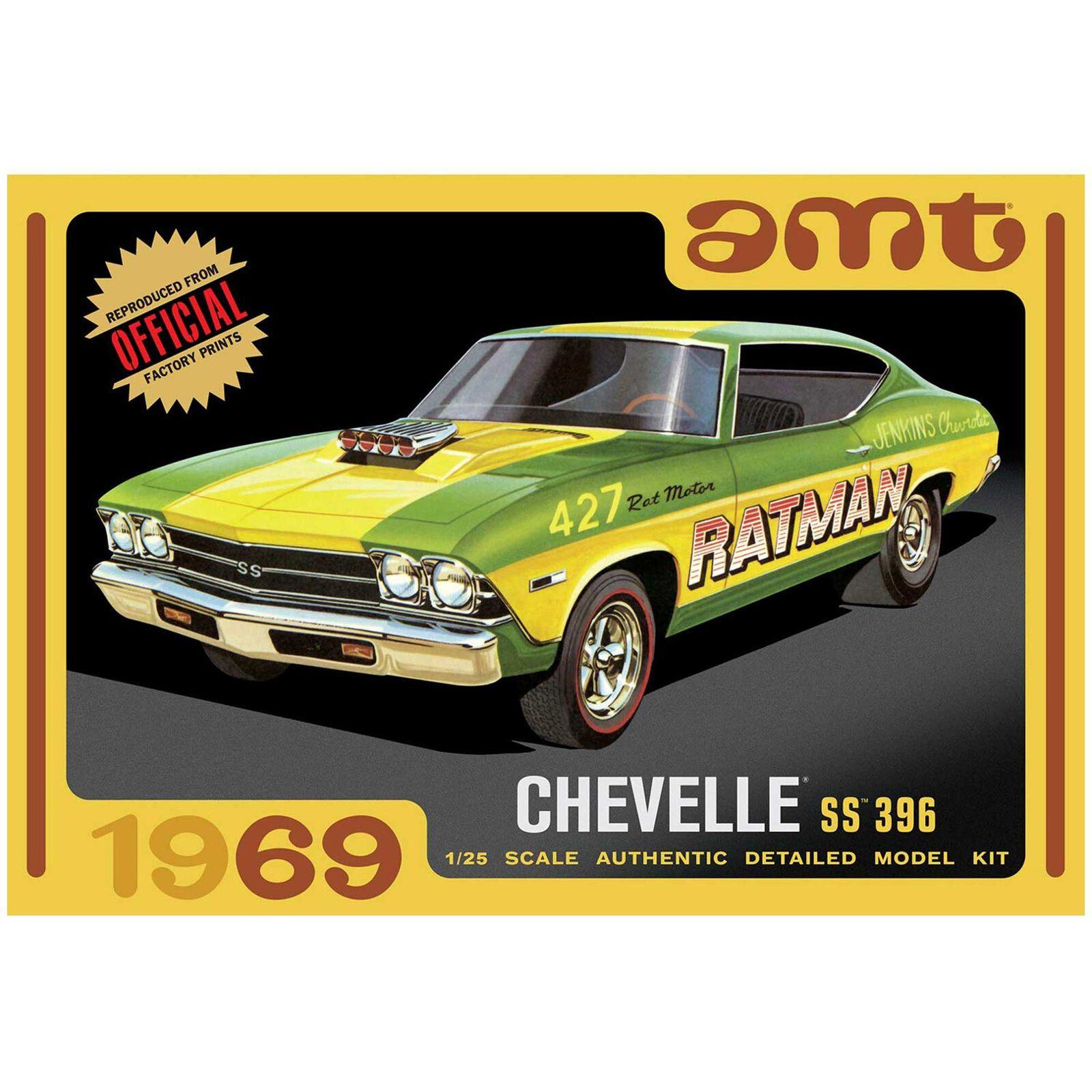 1/25 1969 Chevy Chevelle Hardtop