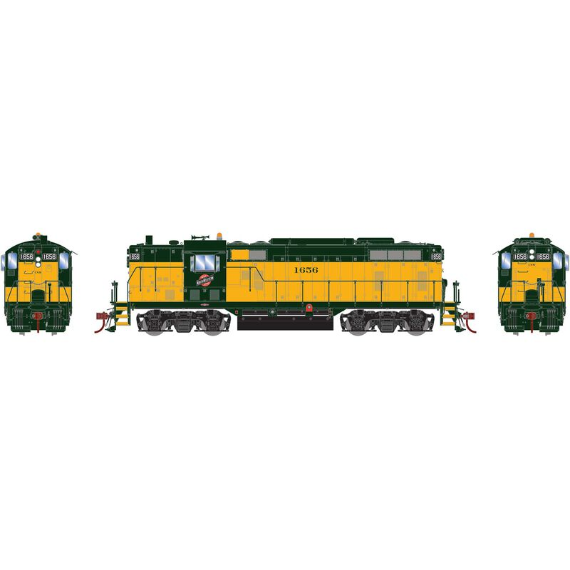 HO GP7 with DCC & Sound C&NW Repaint #1656