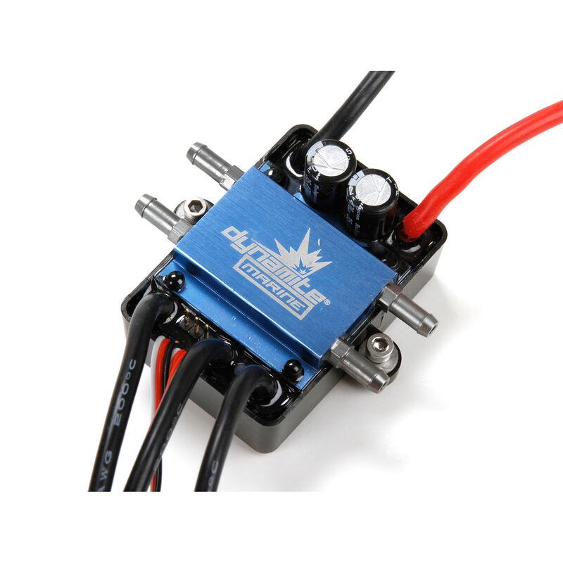 120A BL Marine ESC 2-6S Dual Connector