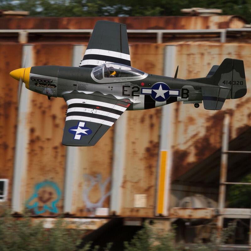 """P-51D Mustang 20cc ARF, 69.5"""""""