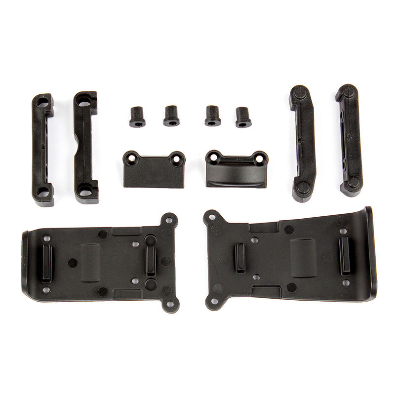 Skid Plates and Arm Mounts: 14B, 14T
