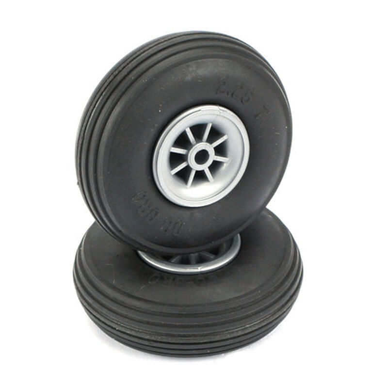 "Treaded Wheels, 2-1/4"" (2)"