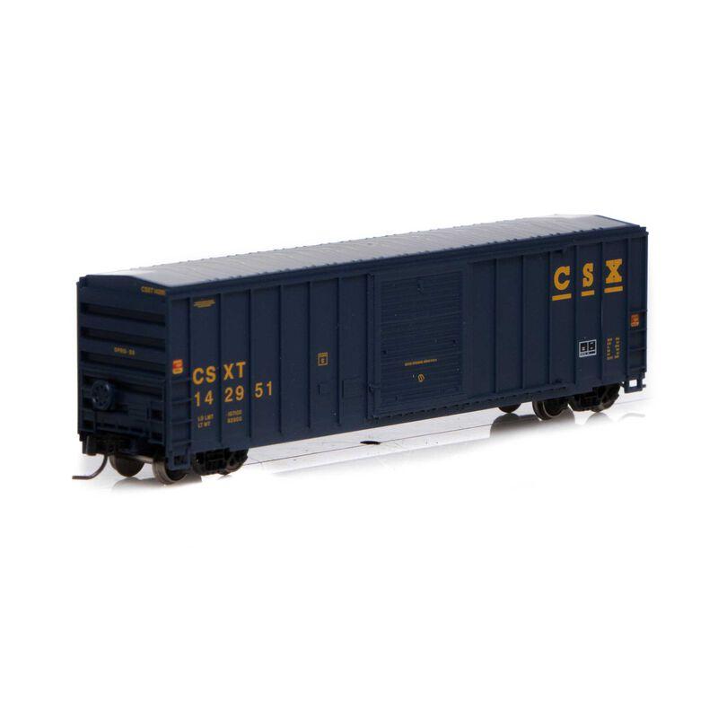 N 50' FMC 5347 Box CSX #142951