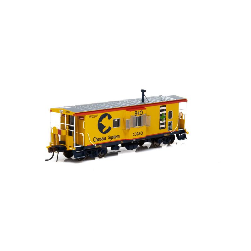 HO ICC Caboose with Lights & Sound B&O Chessie #C-3930