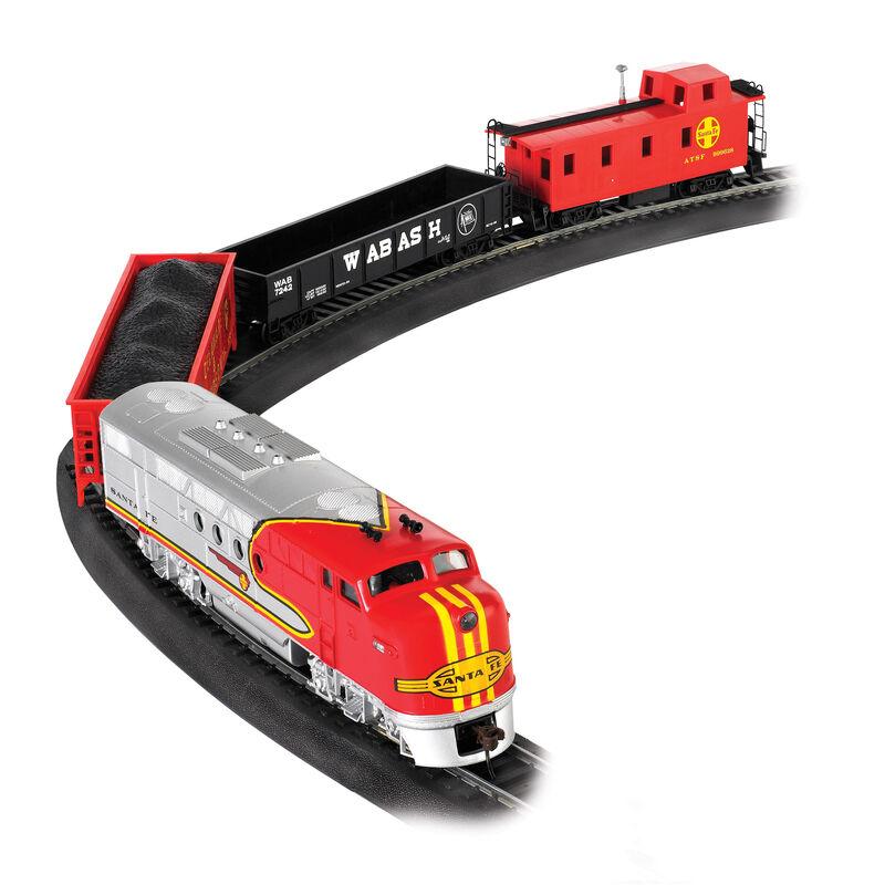 HO Santa Fe Flyer Train Set, SF
