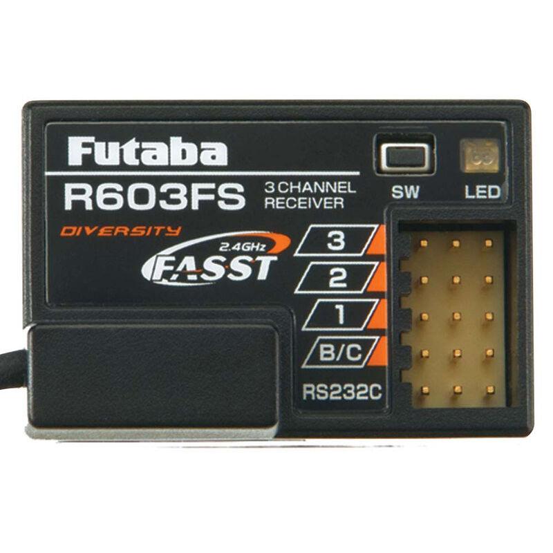 R603FS 3-Channel FASST Receiver