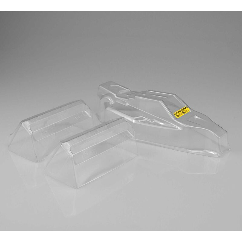 1/10 F2 Clear Body with Aero Wing: TLR22