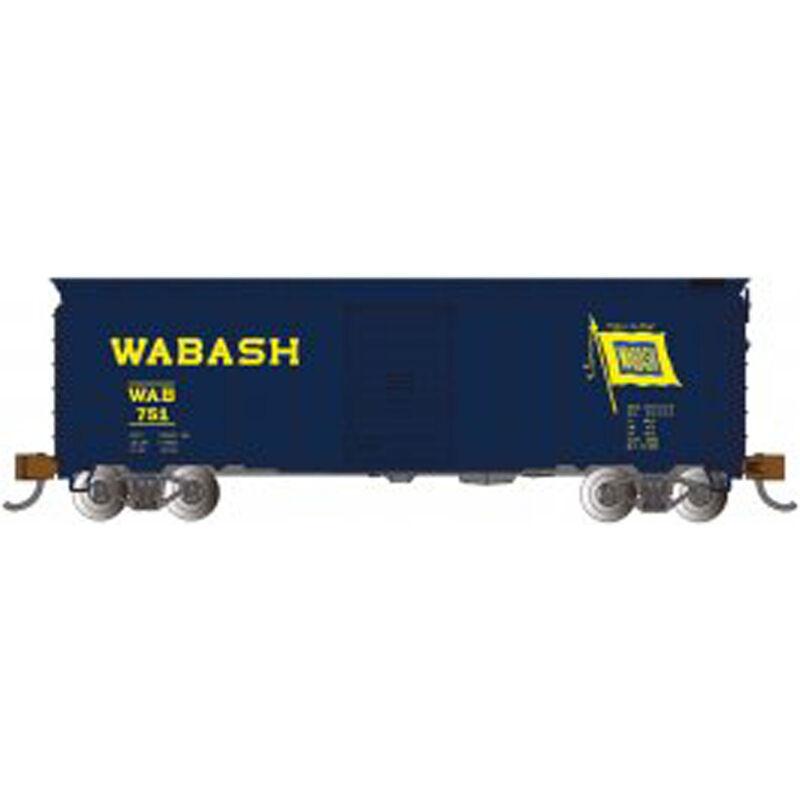N 40' Steel Box Wabash Blue