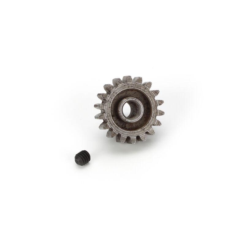 Extra Hard Steel 5mm Bore 1 Module Pinion, 18T
