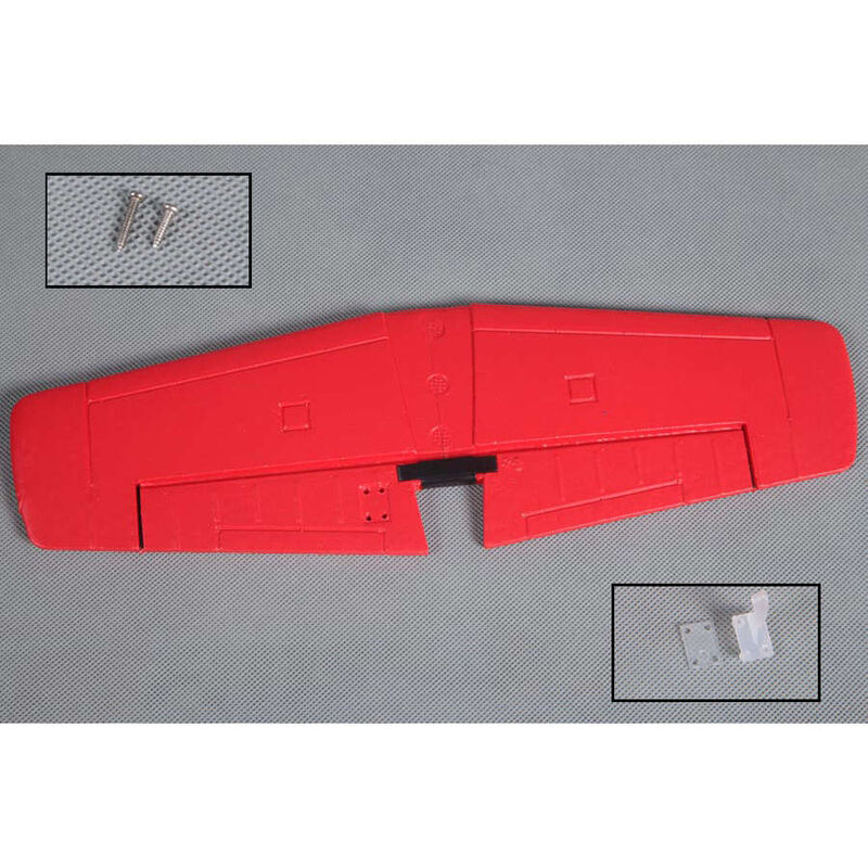 Horizontal Stabilizer  P51D Red Tail 800mm