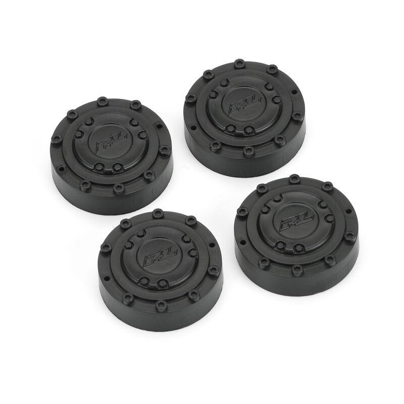 Black Wheel Nut Cover (4)  Brawler Clod Buster Whl