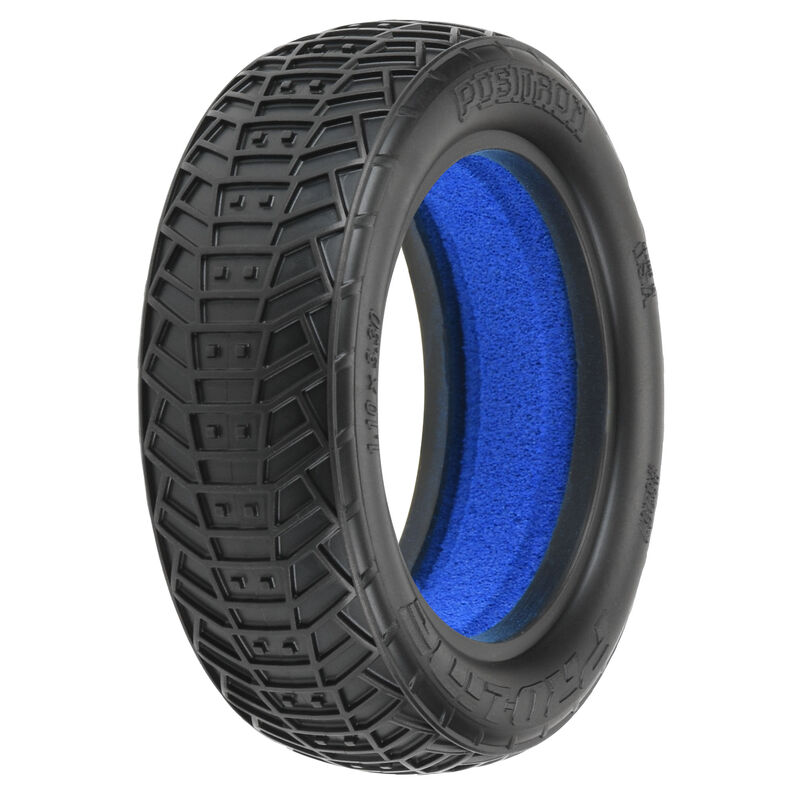 1/10 Front Positron 2.2 2WD M4 Tires with Closed Cell Foam inserts: Off-Road Buggy (2)