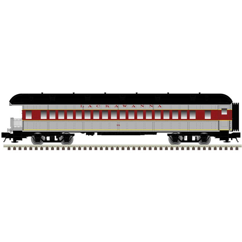 N Trainman 60' Observation Car EL #99