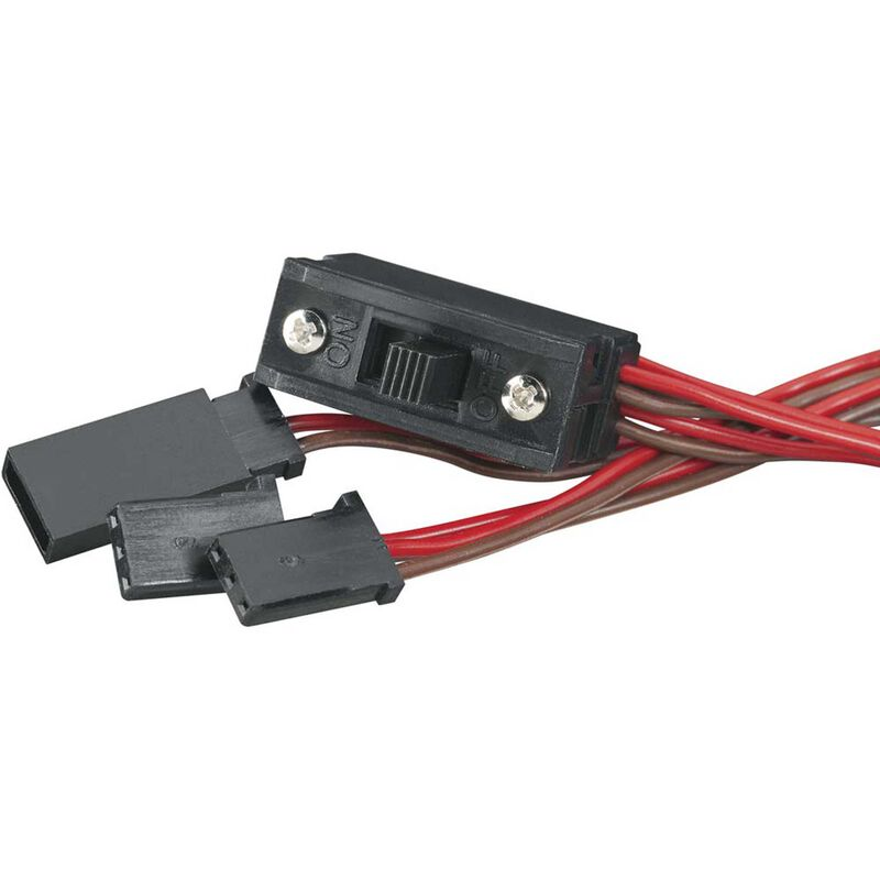 Switch Harness with Charge Plug, Universal