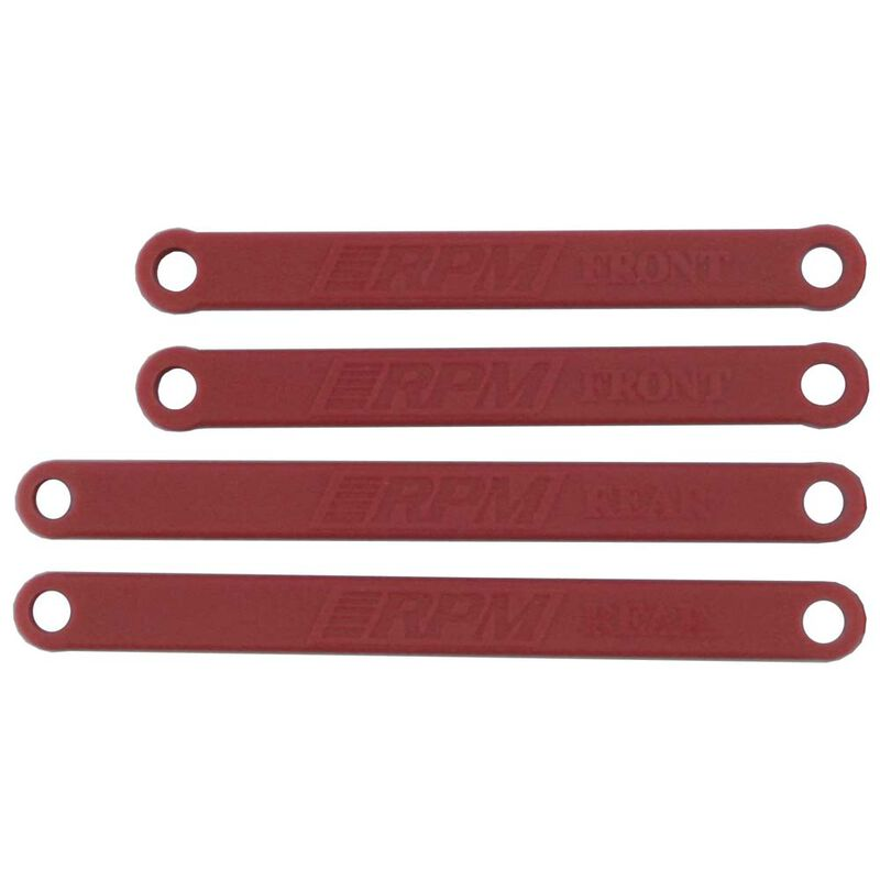 Heavy Duty Camber Links Red  RU & ST 2WD