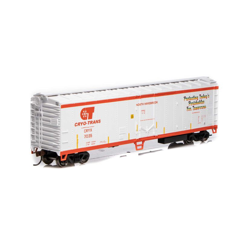 HO 50' SS Mechanical Reefer Cryo-Trans #7035