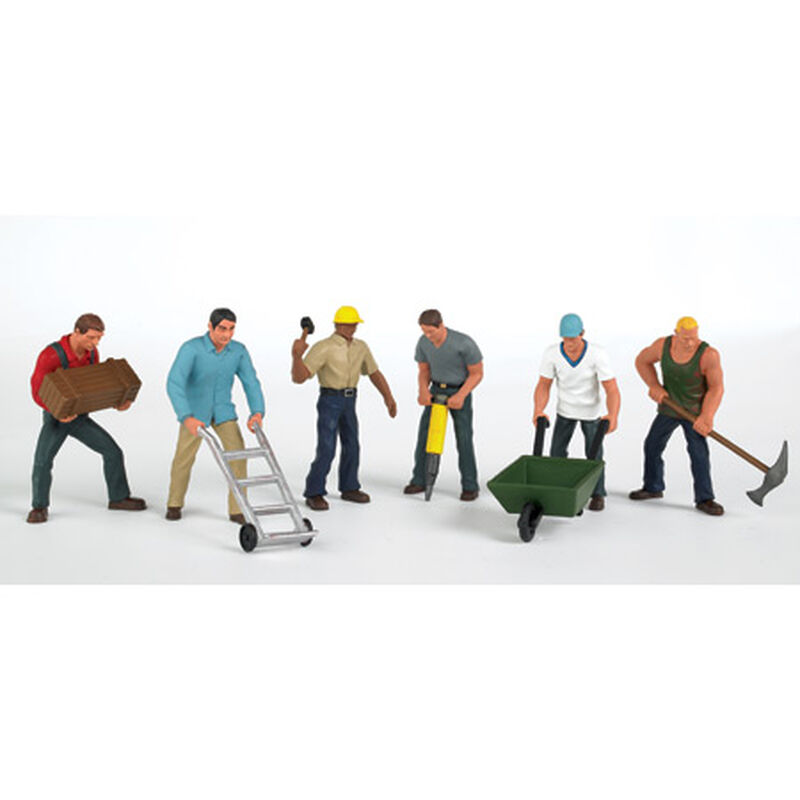 HO Construction Workers (6)
