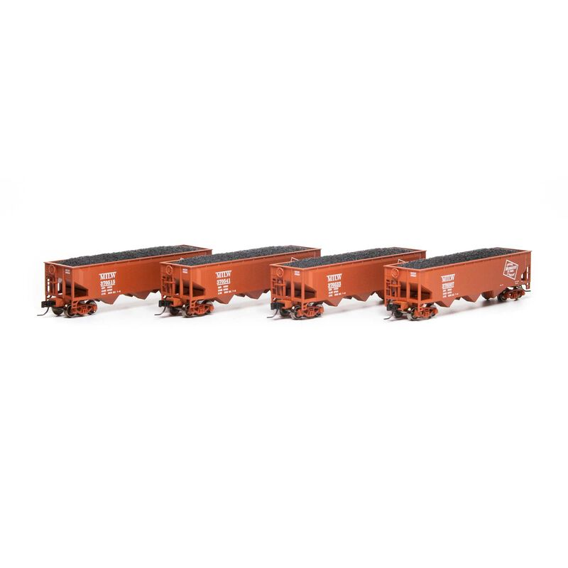N 40' 3-Bay Offset Hopper with Load MILW #1 (4)