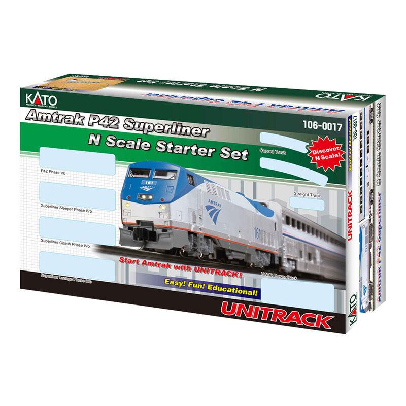 N P42 Superliner Starter Set, Amtrak/Phase V