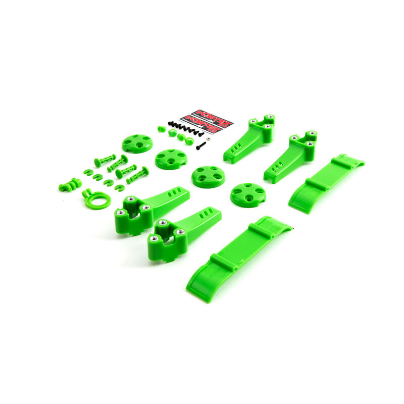 Plastic Kit, Green: Vortex Pro