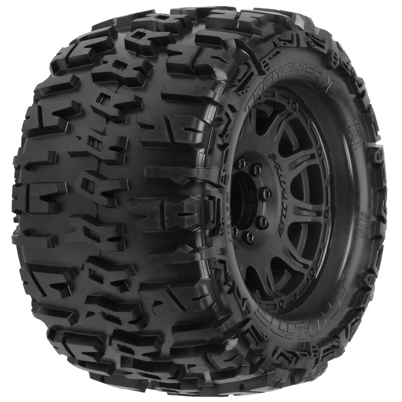 """Trencher X 3.8"""" Mounted Raid MT Tires, 8x32 17mm (F/R)"""