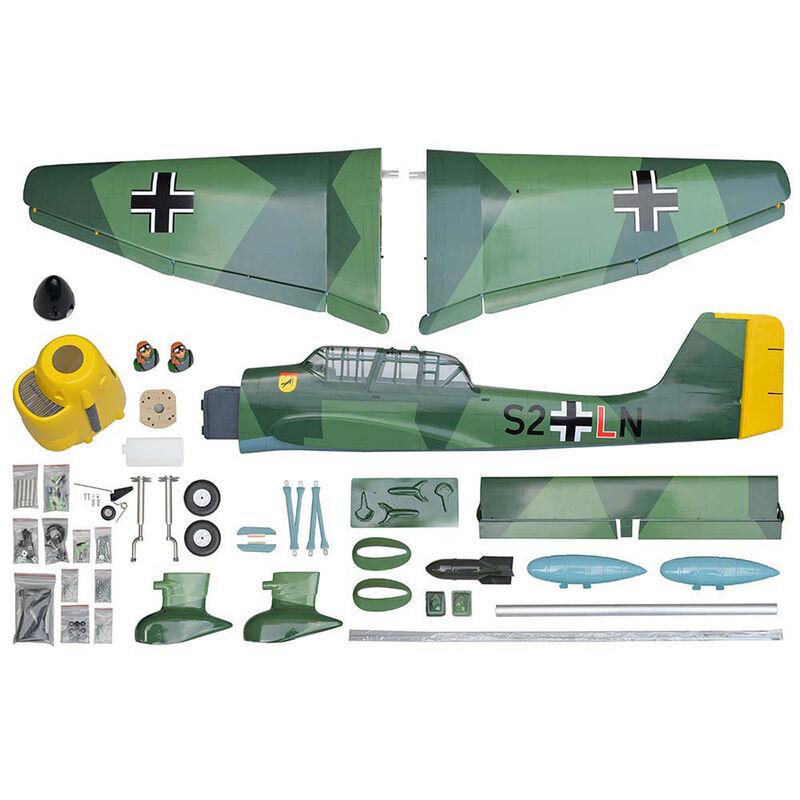 """1/4 Stuka Ju 87 GP EP Gas ARF 75.2"""""""