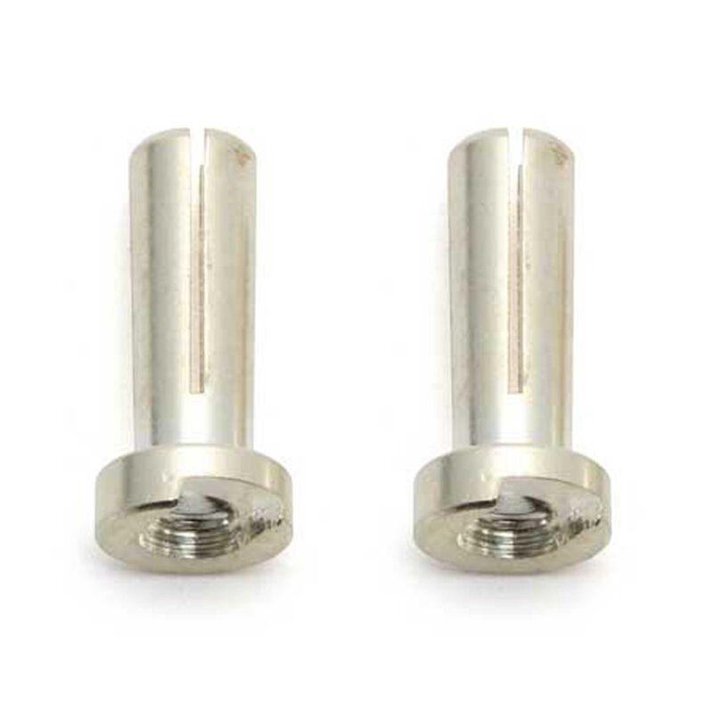 Low-Profile Bullet Connectors, 4mm (2)