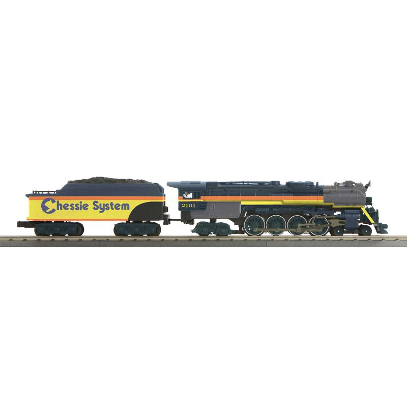 O-27 Imperial 4-8-4 J with PS3 Chessie #2101