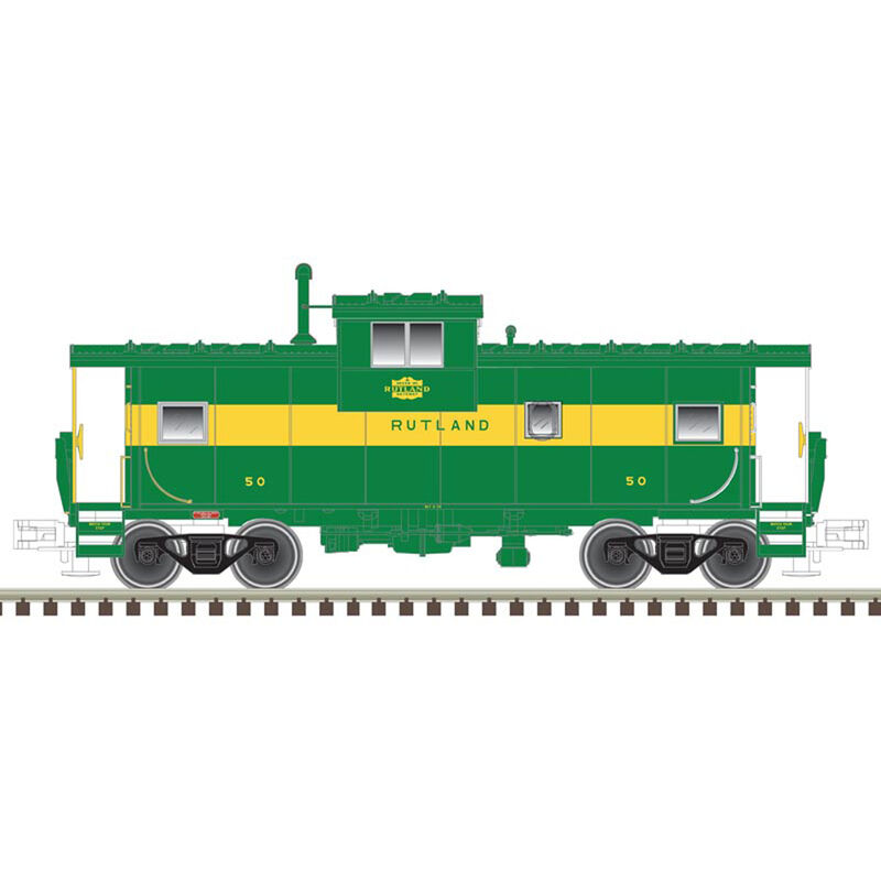 HO Extended Vision Caboose RUT #50
