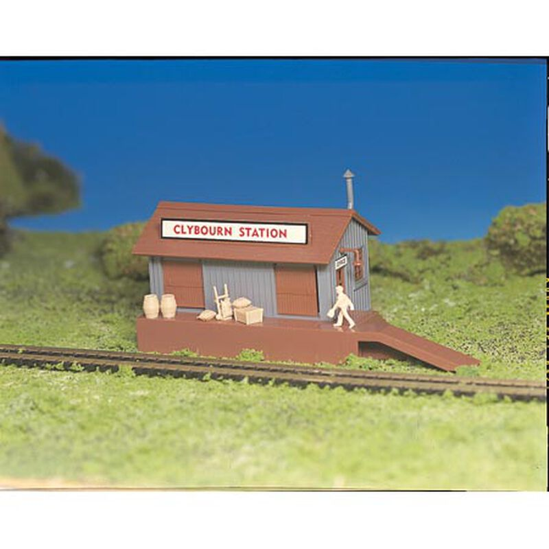 HO Snap KIT Freight Station