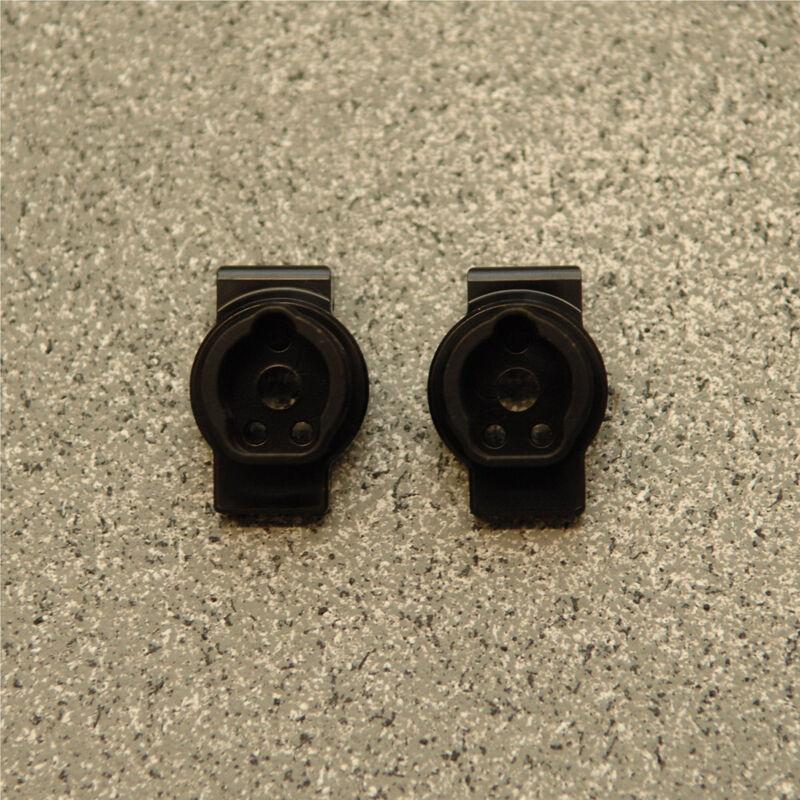 HQ Brass Rear Axel Portal Mounts (1pr),  Black: TRX-4