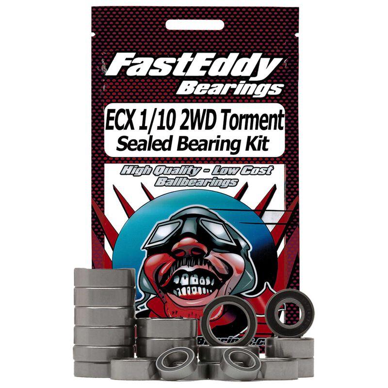 Sealed Bearing Kit: ECX 1/10 2WD Torment