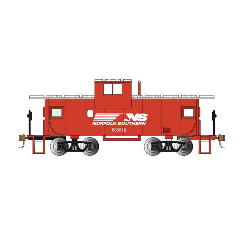 N 36' Wide Vision Caboose NS