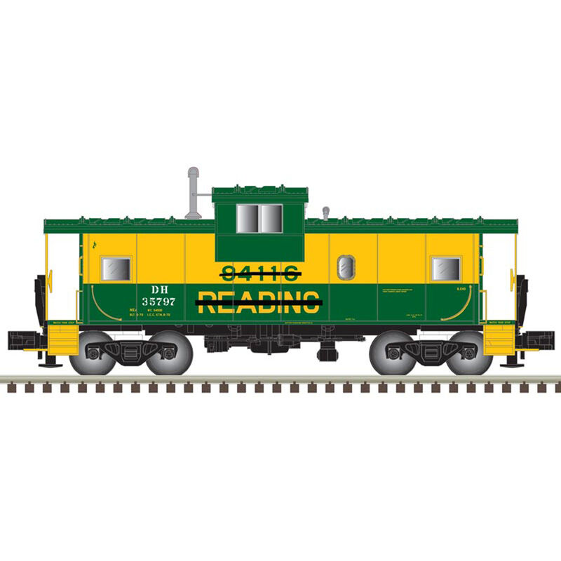 HO Extended Vision Caboose D&H #35791