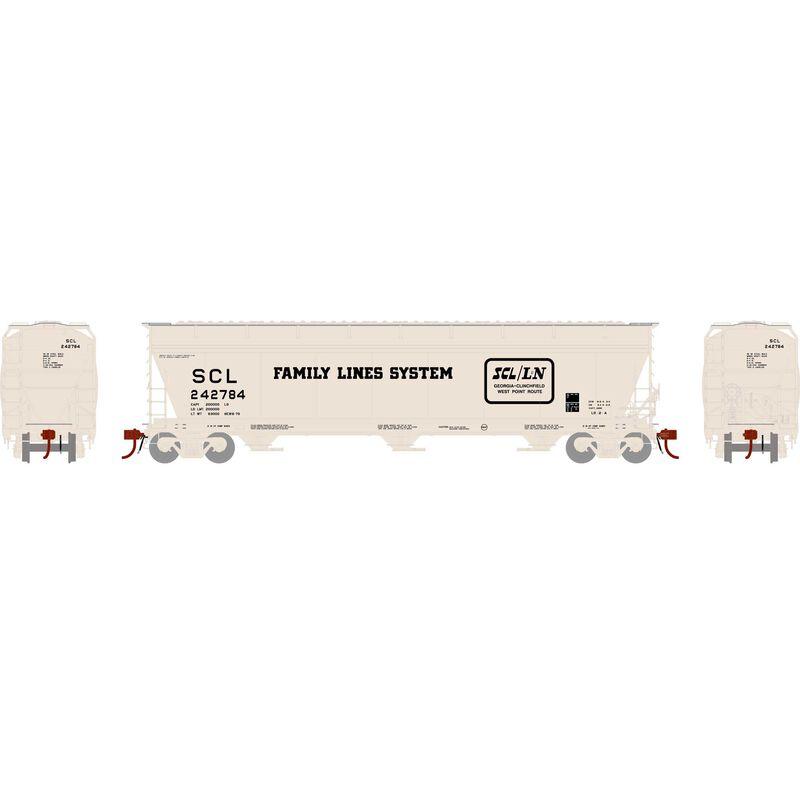 N ACF 4600 3-Bay Centerflow Hopper, SCL #242784