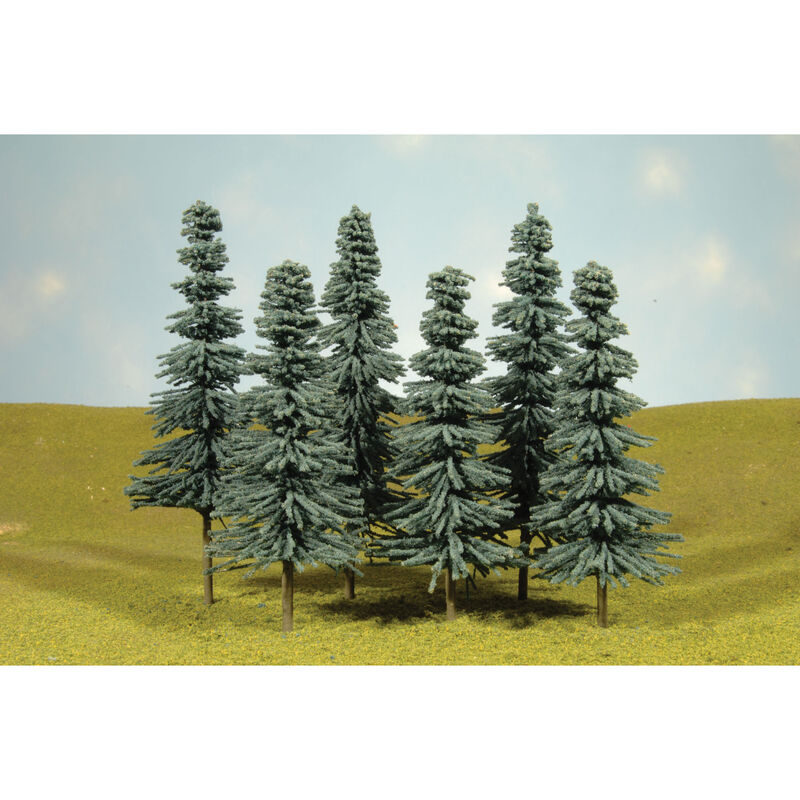 "Scenescapes Blue Spruce Trees, 5-6"" (6)"